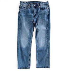Levi's 514 Mens 33 x 30 Straight Fit Blue Jeans